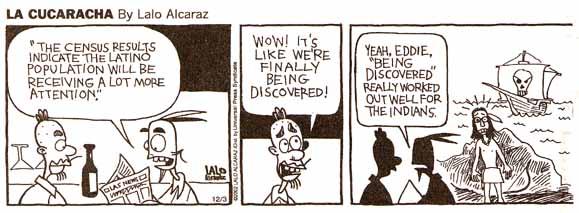 La cucaracha comic strip