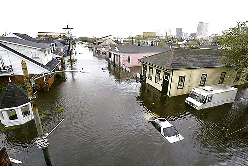 Judge Blames Army Corps for Katrina Flooding