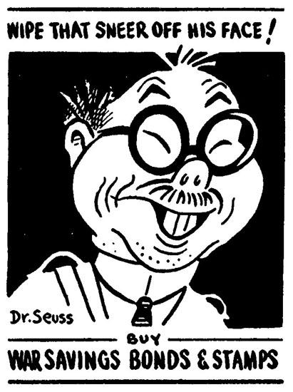 Dr. Seuss's Jap poster