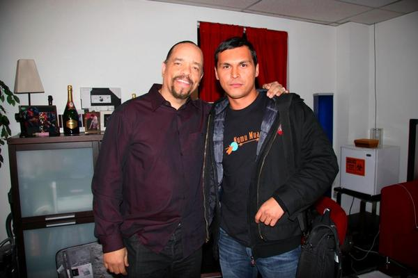 Ice-T and Adam Beach