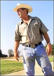 Bush the cowboy
