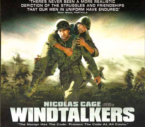 I'm writing a paper that is a review of a historical film. I did it on Windtalkers...help?
