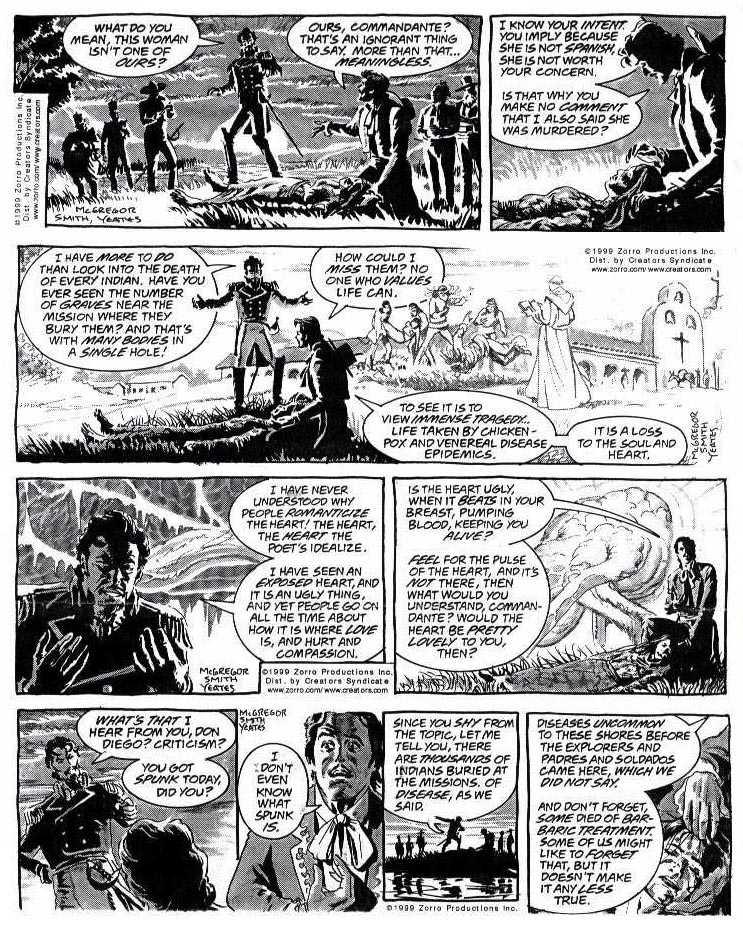 Zorro by Tom Yates